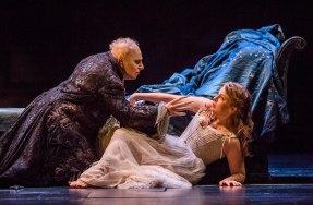 A scene from Die Zauberflote by Mozart @ Royal Opera House. Directed by David McVicar. Conducted by Julia Jones. (Opening 12-09-17) ©Tristram Kenton 09-17 (3 Raveley Street, LONDON NW5 2HX TEL 0207 267 5550 Mob 07973 617 355)email: tristram@tristramkenton.com