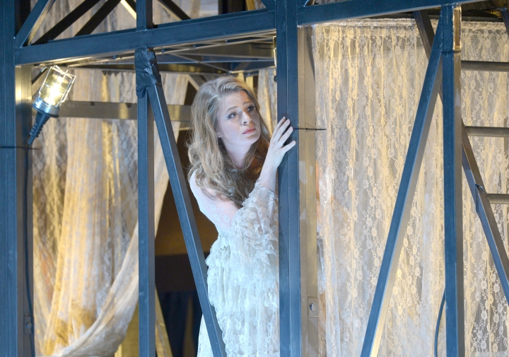 Siobhan Stagg as Gilda - Rigoletto - Deutsche Oper Berlin - October 2016. Photo credit: Bettina Stöss