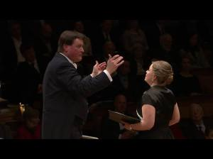 Siobhan with Thielemann and the Berlin Philharmonic Jan 2015